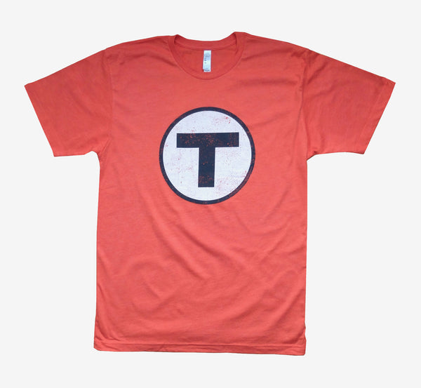 T Logo Orange T-Shirt (Adult Unisex)