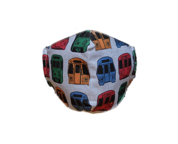 MBTA Vehicles Cotton Face Mask