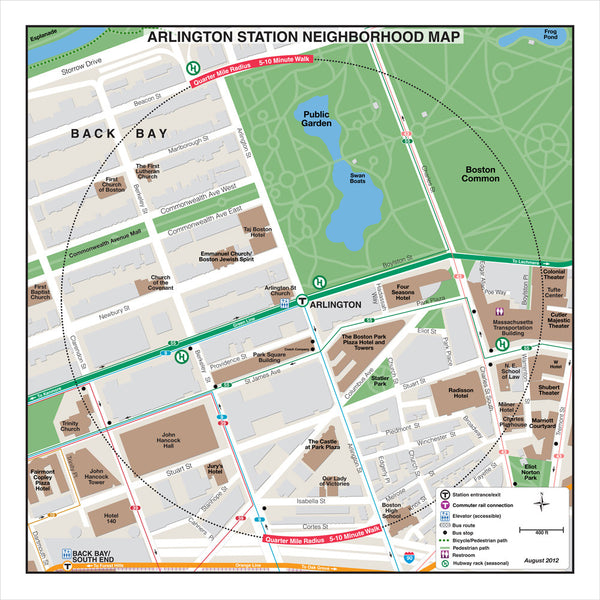 Arlington Station Neighborhood Map (Aug. 2012)