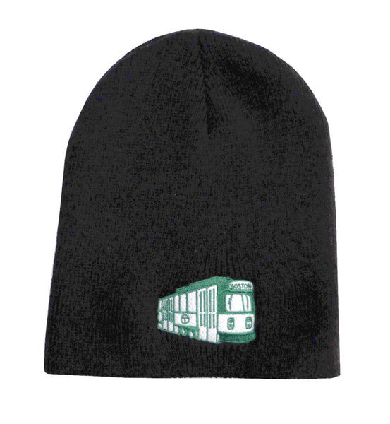 MBTA Green Line Trolley Kids Beanie