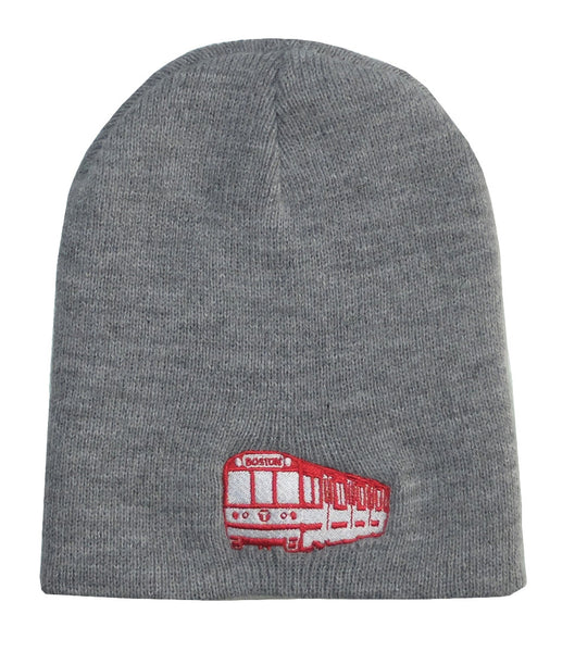 MBTA Red Line Subway Car Kids Beanie