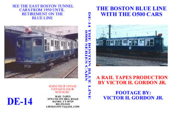 The Boston Blue Line with the 0500 Cars