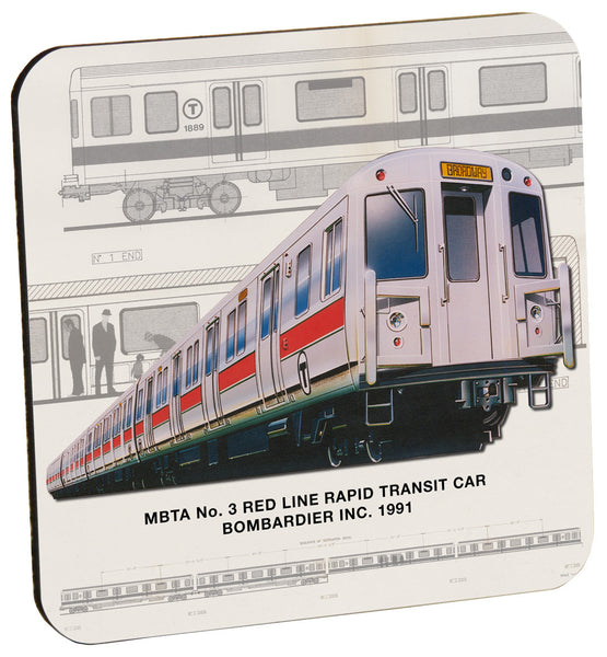 MBTA Red Line No. 3 Coaster