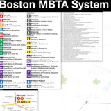 Boston MBTA Track Map v3: Complete and Geographically Accurate