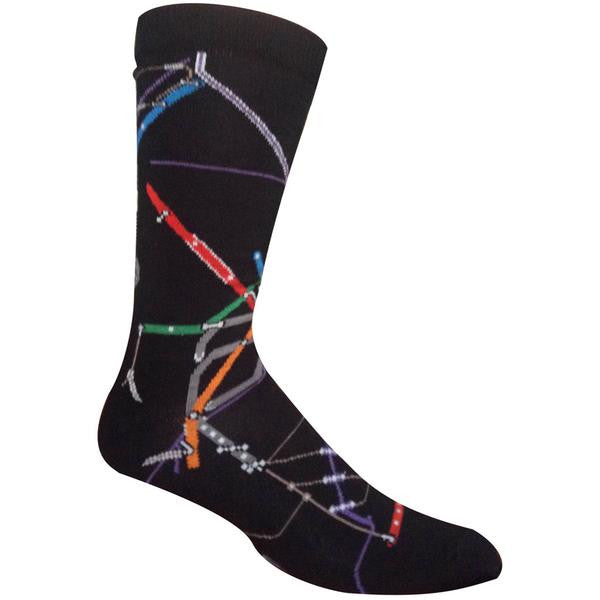 MBTA Map Socks