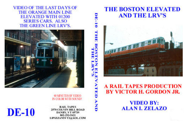 The Boston Elevated and the LRVs