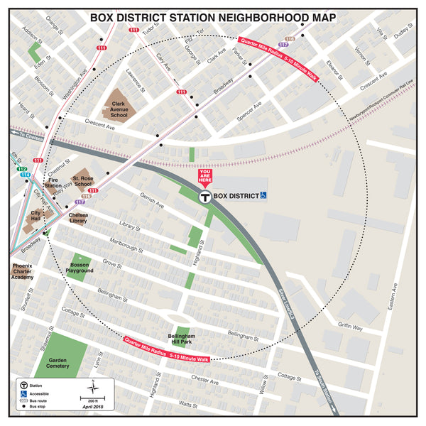 Box District Station Neighborhood Map (April 2018)