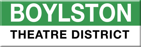 MBTA Green Line Boylston Station Magnet