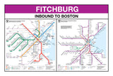 "MBTA Commuter Rail - North Station - Station Panel Prints (18""x24"")"