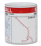 Kendall Red Line Station Mug
