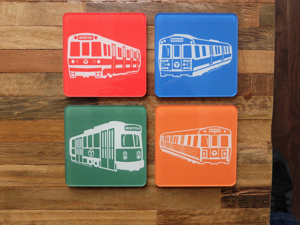 MBTA Drink Coaster Set
