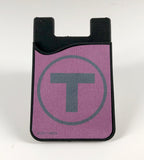Commuter Rail Silicone Card Caddy Phone Wallet