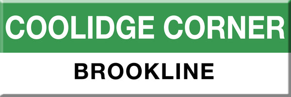 MBTA Green Line Coolidge Corner Station Magnet