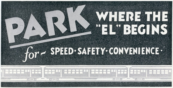 "Park Where the ""EL"" Begins"