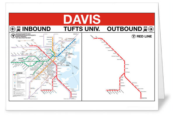 Davis Station Greeting Card