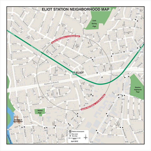 Eliot Station Neighborhood Map (Apr. 2012)