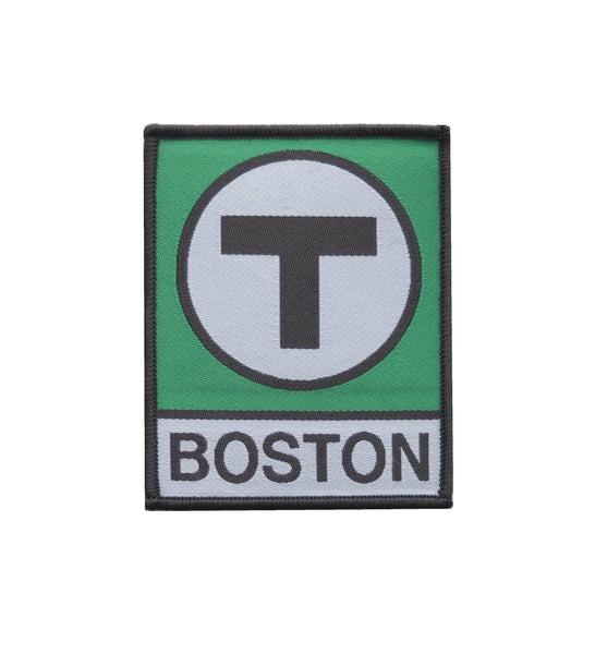 Green Line T Logo Patch