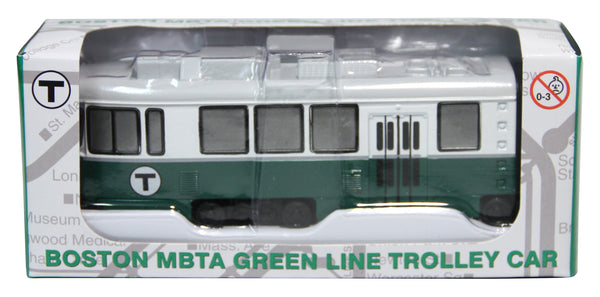 Single MBTA Die Cast Trolley Car