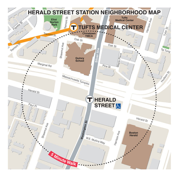 Herald Street Station Neighborhood Map (Jul. 2012)