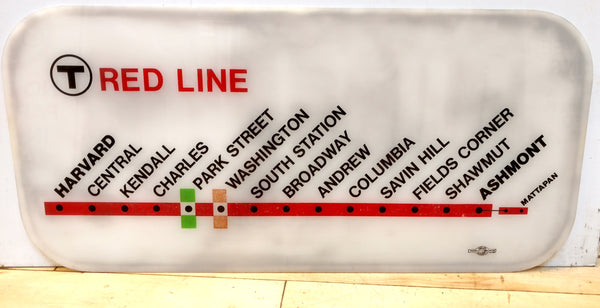 Red Line Car Map