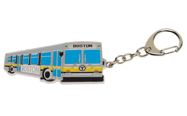 MBTA Bus Key Chain