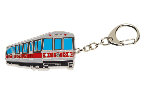 MBTA Red Line Key Chain