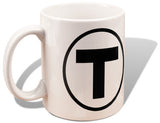 Rapid Transit Map and T Logo Mug