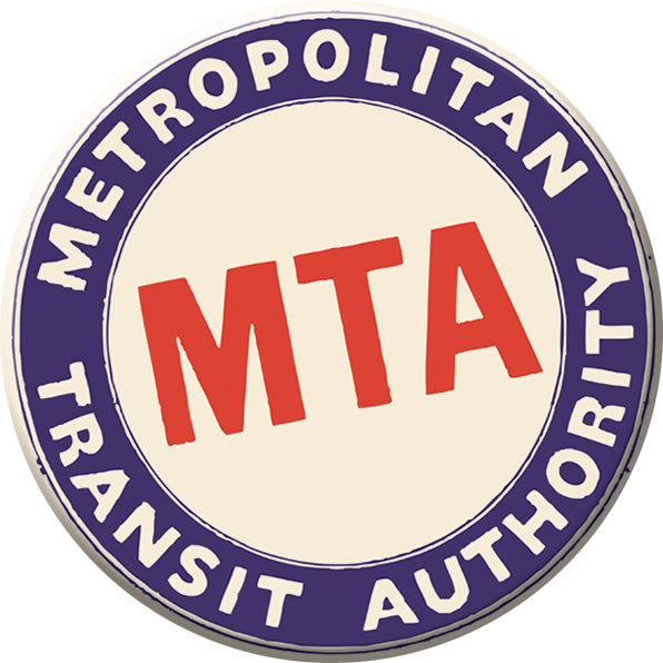 Boston MTA Logo Magnet