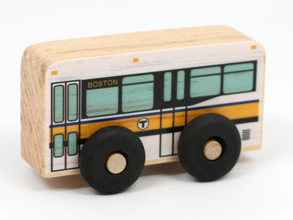 Wooden Push Bus