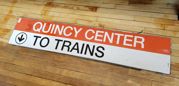 "Quincy Center ""To Trains"" 1"