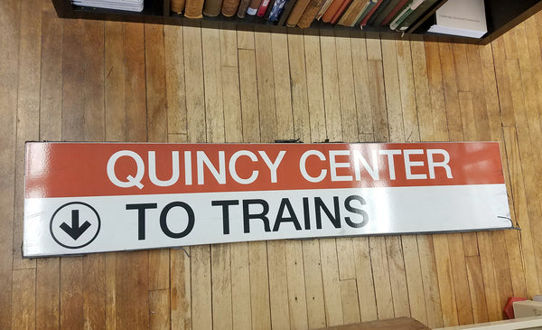"Quincy Center ""To Trains"" 2"