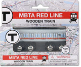 MBTA Red Line Wooden Toy Train