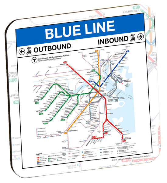 MBTA Blue Line Coaster