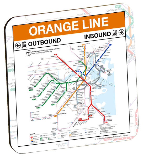 MBTA Orange Line Coaster
