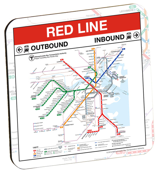 MBTA Red Line Coaster