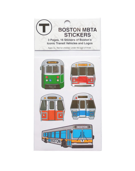 MBTA Sticker Bundle