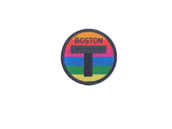 "Boston ""T"" Patch"