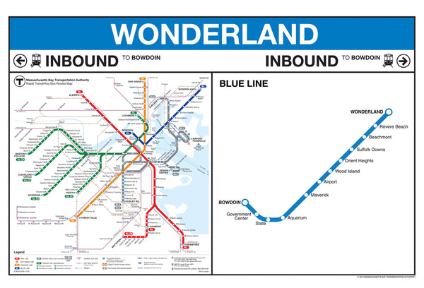 Wonderland Station Greeting Card