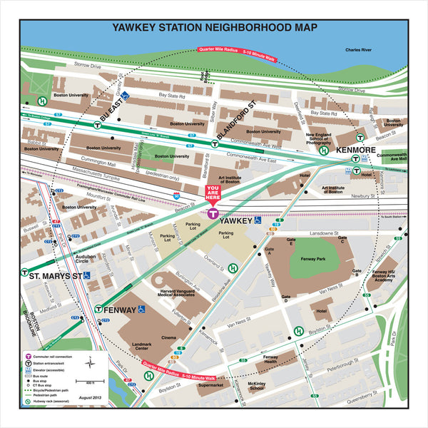 Yawkey Station Neighborhood Map (Aug. 2013)