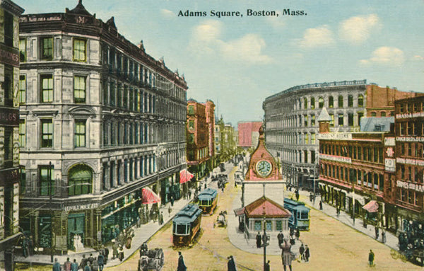 Adams Square Station Head House