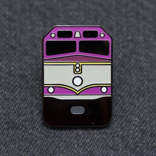 Boston Commuter Rail Enamel Pin
