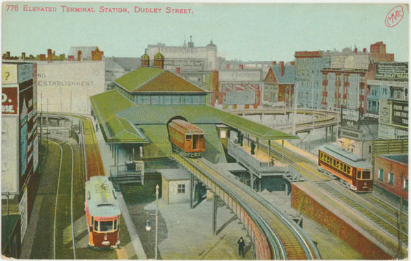Dudley Street Elevated Station
