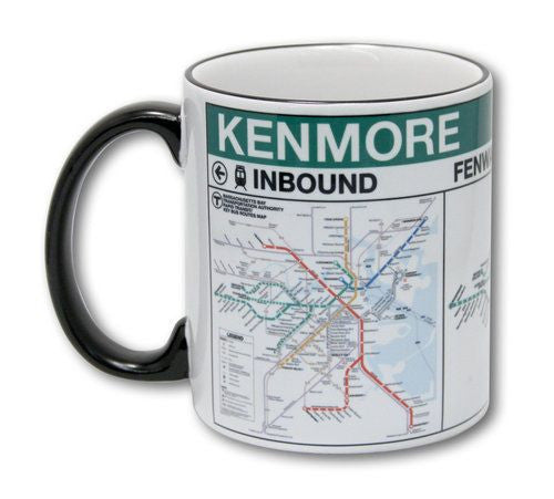 Kenmore Red Line Station Mug