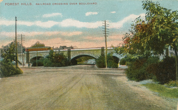 Forest Hills Rail Viaduct in West Roxbury