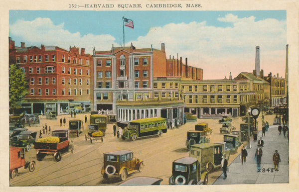 Harvard Square showing Subway Entrance