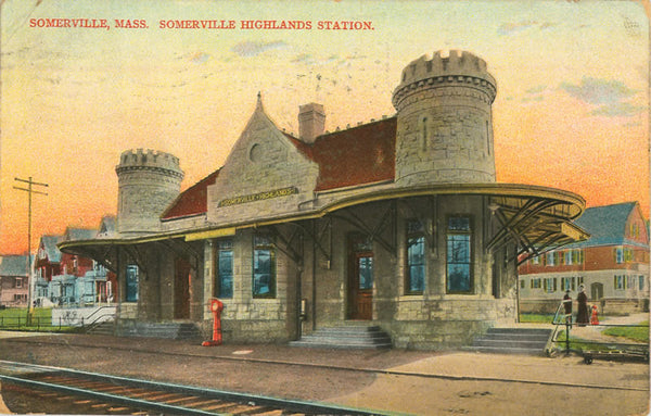 Highland Station in Somerville