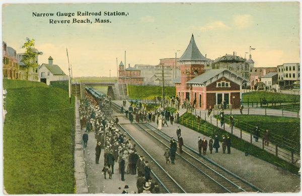 Revere Beach Narrow Gauge Train Station