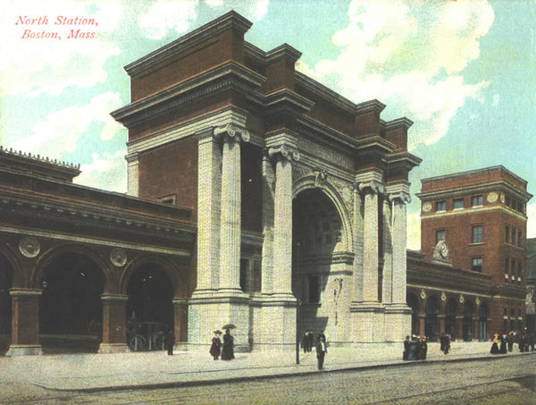 Union Station Arch at Causeway Street