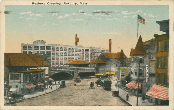 Roxbury Crossing in Roxbury