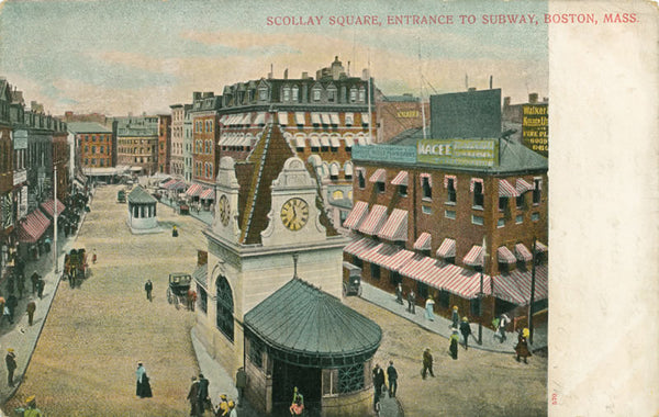 Scollay Square Entrance to Subway